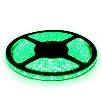 Світлодіодна стрічка Biom 2835-120 IP65 G зелений, герметична, 1м