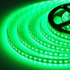 Светодиодная лента Biom 2835-120 IP65 G зелёный, герметичная, 1м. Фото 3