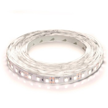 Світлодіодна стрічка Biom 2835-120 IP20 NW нейтральний білий, негерметична, 1м