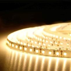 Светодиодная лента BIOM Professional 2835-120 WW тёплый белый, негерметичная, 1м. Фото 4