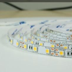Светодиодная лента BIOM Professional 5050-60 WW тёплый белый, негерметичная, 1м. Фото 3