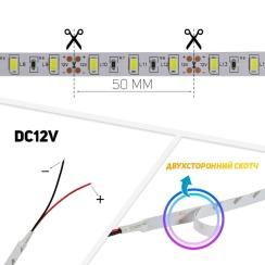Світлодіодна стрічка BIOM Professional 5630-60 W білий, негерметична, 1м. Фото 2