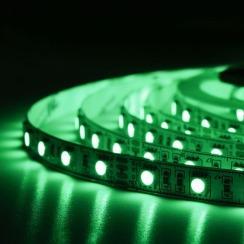 Світлодіодна стрічка BIOM Professional 5050-60 RGB, негерметична, 1м. Фото 5