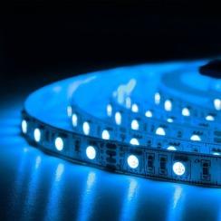 Світлодіодна стрічка BIOM Professional 5050-60 RGB, негерметична, 1м. Фото 3