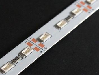 Світлодіодна лінійка 5630-72 led R 22W 12V IP20 червоний