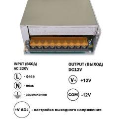 Блок питания Biom DC12 250W 20А TR250-12. Фото 3
