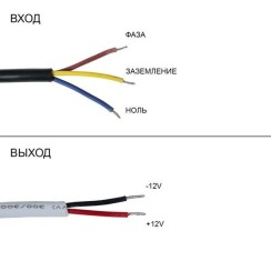 Блок живлення Biom DC12 45W 3,75А FTR-45 герметичний. Фото 3
