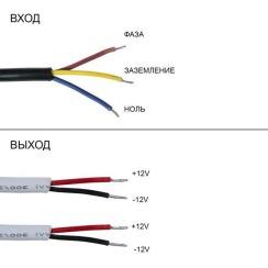 Блок живлення Biom DC12 80W 6,67А FTR-80 герметичний. Фото 3