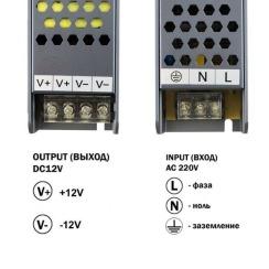 Блок живлення BIOM Professional DC12 150W BPU-150 12,5А. Фото 3