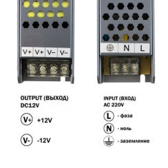 Блок живлення BIOM Professional DC12 200W BPU-200 16,6А. Фото 3