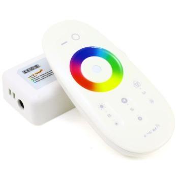 Контроллер RGB Biom 18А-2.4G-Touch белый