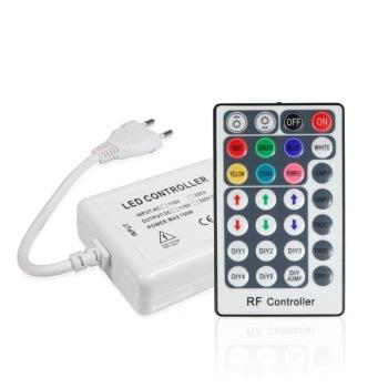 Контролер RGB 220В Biom 750W-RF-28 кнопок