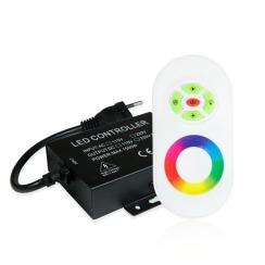 Контролер RGB 220В Biom 1500W-RF-5 кнопок