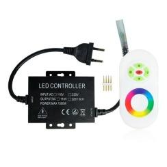 Контролер RGB 220В Biom 1500W-RF-5 кнопок. Фото 2
