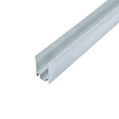 Профиль алюминиевый ЛПН-16 анодированный для крепления ленты NEON 8*16, (палка 2м) м