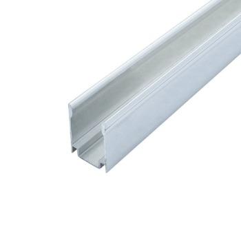 Профиль алюминиевый ЛПН-18 анодированный для крепления ленты NEON RGB, (палка 2м) м
