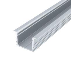 Профіль алюмінієвий анодований LED LPV-12 + розсіювач (комплект), м . Фото 2