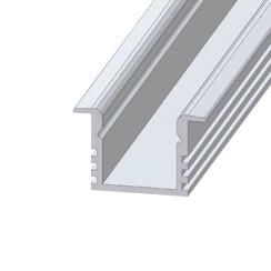 Профіль алюмінієвий анодований LED LPV-12 + розсіювач (комплект), м . Фото 5
