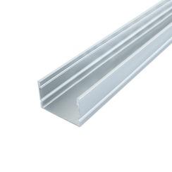 Профиль алюминиевый BIOM ЛП20 20х30, анодированный (палка 2м) + рассеиватель (комплект), м