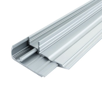 Профиль алюминиевый BIOM для ступенек LPS-22 (LPS-22/1+LPS-22/2) анодированый, (палка 2м), м