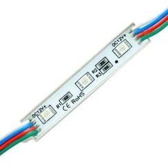 Светодиодный модуль Biom 5050-3 led RGB 0,72W, 12В, IP65