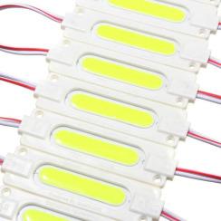 Світлодіодний модуль Biom COB W 2W 6500K, 12В, IP65 білий. Фото 2