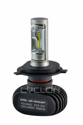 Автолампа LED H4 H/L 5000K 4000Lm type 9a