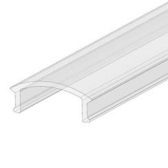 Рассеиватель прозрачный BIOM для LED профиля, 2 м