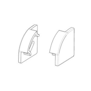 Заглушка BIOM для кутового профіля ПУ17 17х17мм