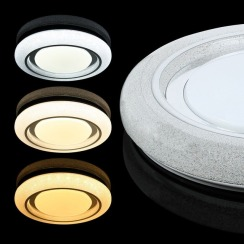 Светильник светодиодный Biom SMART SML-R11-80 3000-6000K 80Вт с д/у. Фото 2