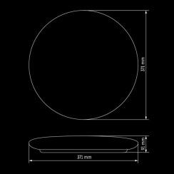 Світильник світлодіодний Biom SMART SML-R12-50 3000-6000K 50Вт з д/к. Фото 5