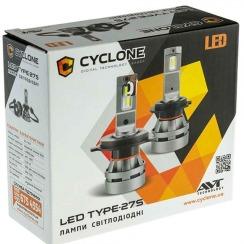 Автолампа CYCLONE LED HB4 (9006) 5000K 5100LM CREE TYPE 27S. Фото 2