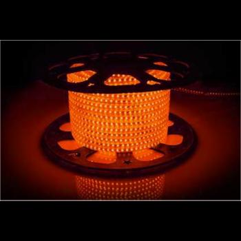 Світлодіодна стрічка 2835 120 Led/m O 220В IP68 помаранчева, герметична, 1м