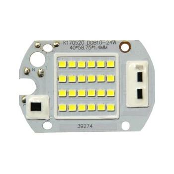 Светодиодная матрица для прожектора 20W с IC драйвером 220V