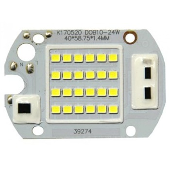 Светодиодная матрица для прожектора 30W с IC драйвером 220V