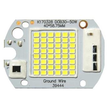Светодиодная матрица для прожектора 50W с IC драйвером 220V