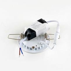 Светильник светодиодный AVT 3Вт круг 4000К. Фото 3
