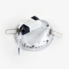 Светильник светодиодный AVT 6Вт круг 4000К. Фото 3
