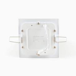 Светильник светодиодный AVT 6Вт квадрат 4000К. Фото 2