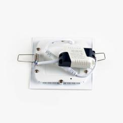 Светильник светодиодный AVT 6Вт квадрат 4000К. Фото 3