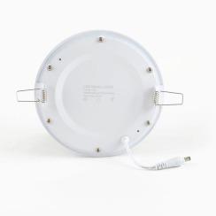 Светильник светодиодный AVT 12Вт круг 4000К. Фото 2