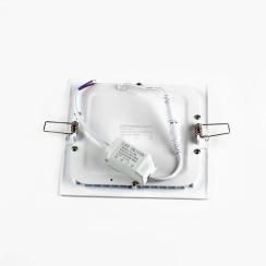 Светильник светодиодный AVT 12Вт квадрат 4000К. Фото 3
