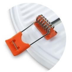 Светильник светодиодный врезной Biom UNI-R18 18Вт круглый 5000К. Фото 2