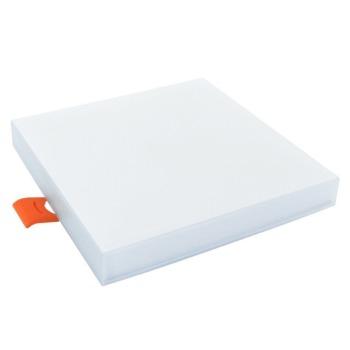 Світильник світлодіодний врізний Biom UNI-S18 18Вт квадратний 5000К
