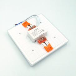 Світильник світлодіодний врізний Biom UNI-S18 18Вт квадратний 5000К. Фото 3