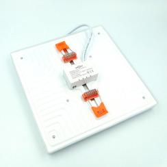 Світильник світлодіодний врізний Biom UNI-S24 24Вт квадратний 5000К. Фото 3