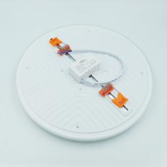 Світильник світлодіодний врізний Biom UNI-R32W-5 32Вт круглий 5000К. Фото 3