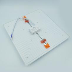 Світильник світлодіодний врізний Biom UNI-S32 32Вт квадратний 5000К. Фото 3
