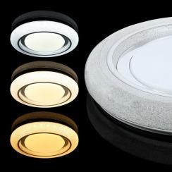 Світильник світлодіодний Biom SMART SML-R11-50 3000-6000K 50Вт з д/к. Фото 3