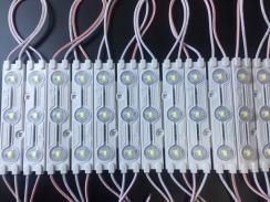 Світлодіодний модуль AVT 5730 3 led 1,5W 10000K, 12В, IP65 холодний білий. Фото 2